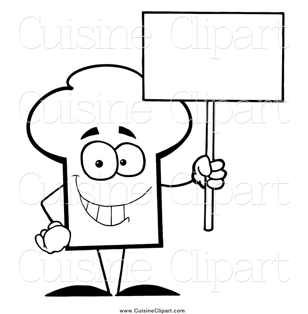 Coloring Pages Of Chef Hats