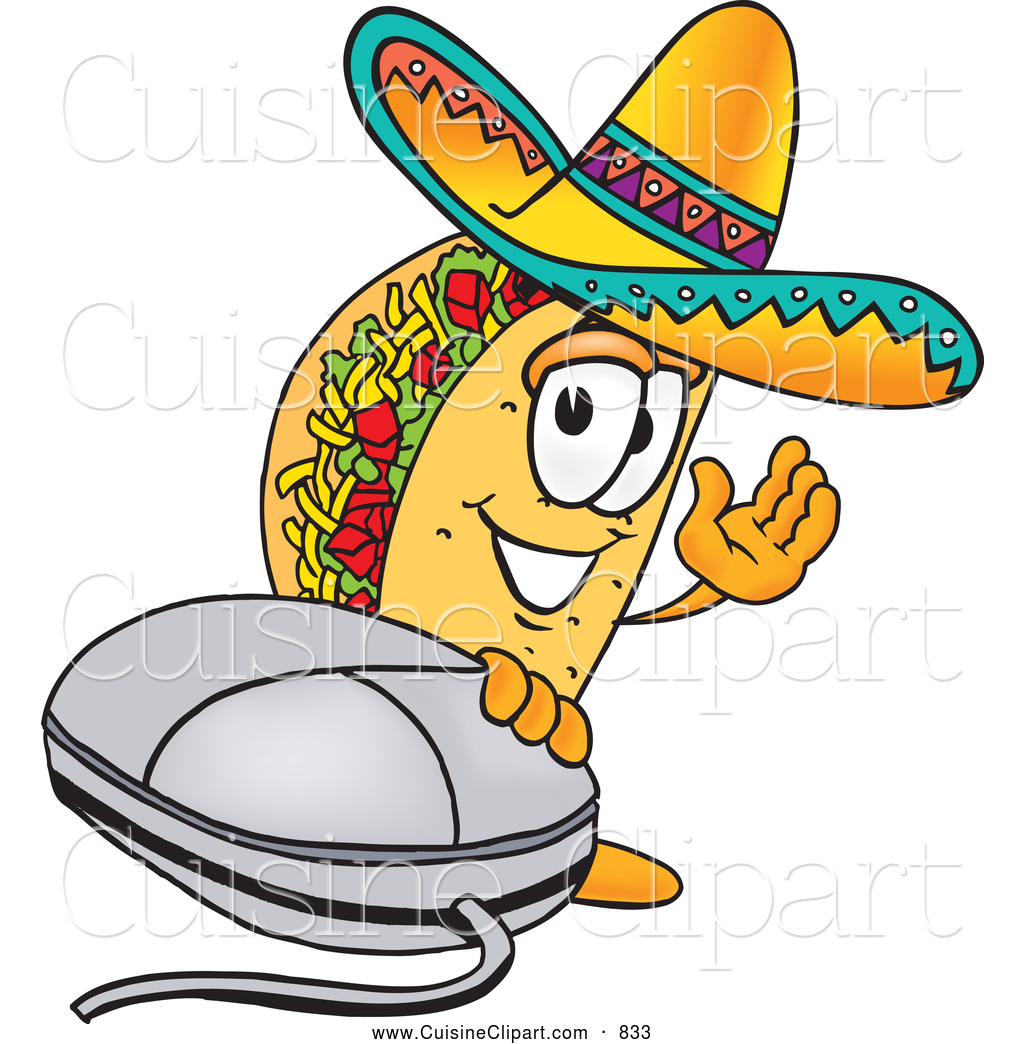 Computer mouse clip art cuisine clipart of a cheerful