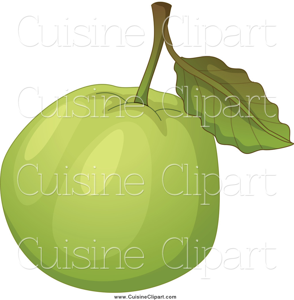 Cuisine clipart of a green guava by graphics rf 16553 for Cuisine on the green