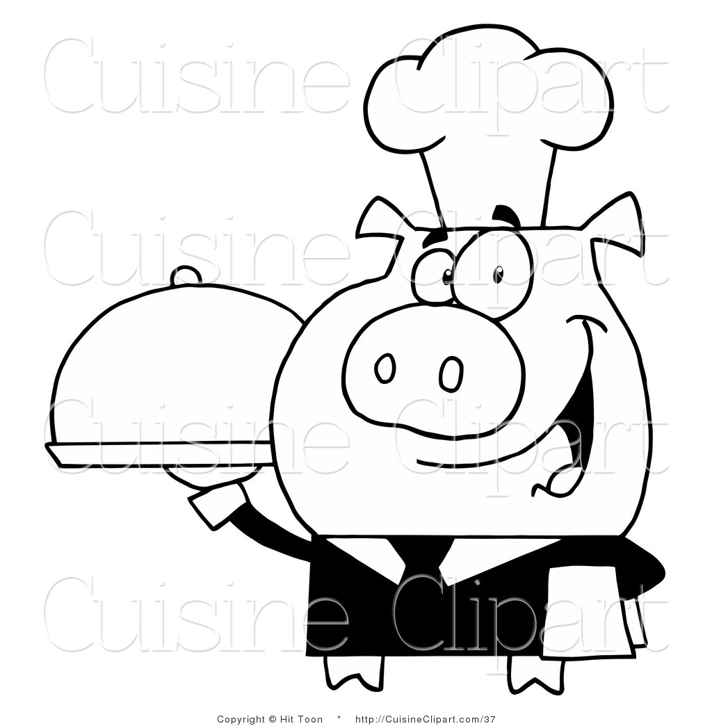 Dirty Dog Cartoon Clip Art together with Viewtopic likewise Outlines together with I0000LMZHEoAre7A together with Bbq apron t Shirts. on pig with chef hat