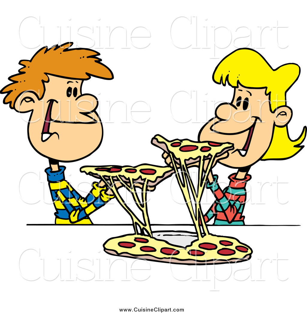 cuisine clipart of a young couple sharing pizza by toonaday 14465 rh cuisineclipart com market share clipart share clip art on facebook