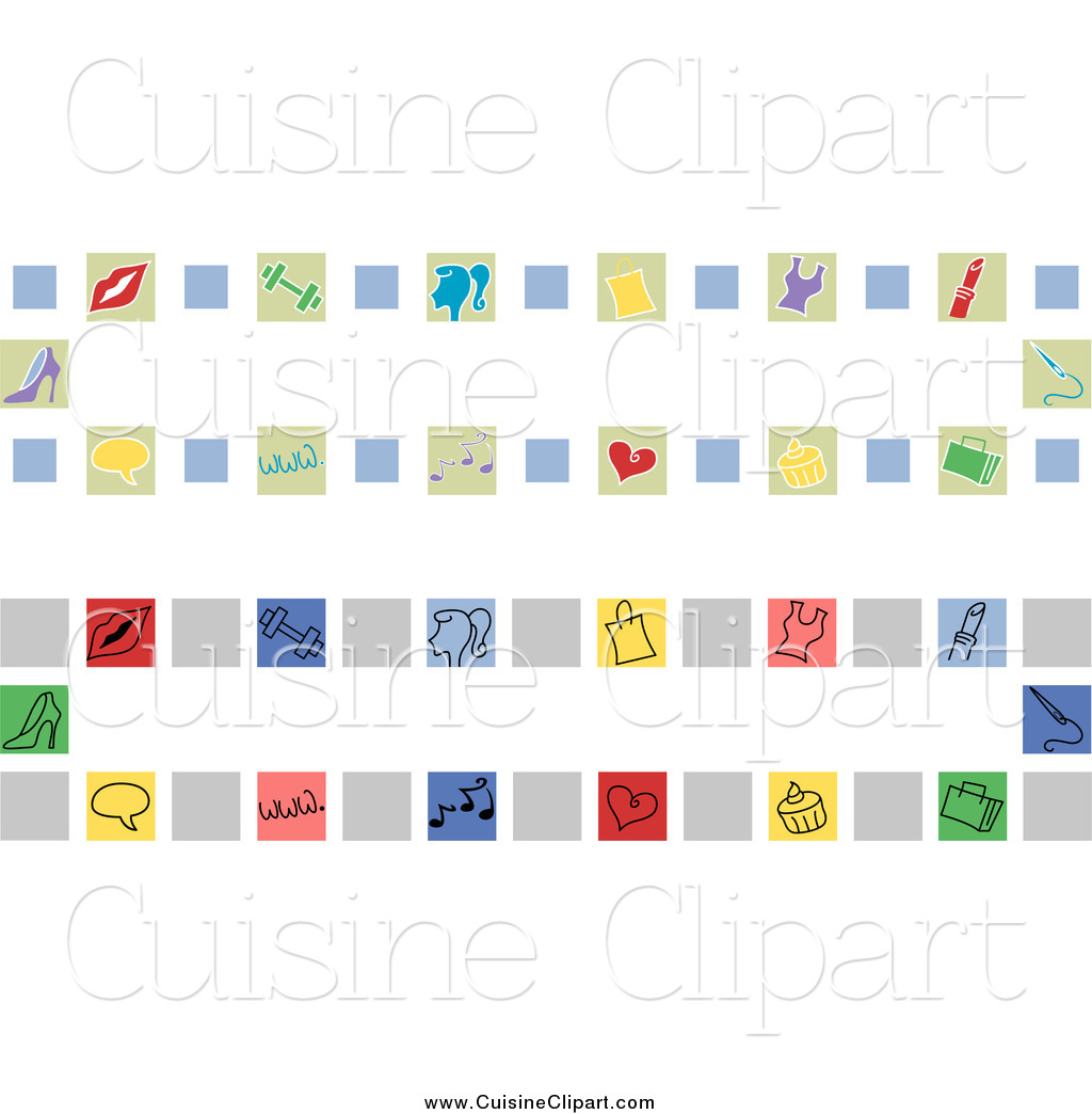 Cuisine clipart of girly website banners by bnp design studio 7732 - Cuisne design ...
