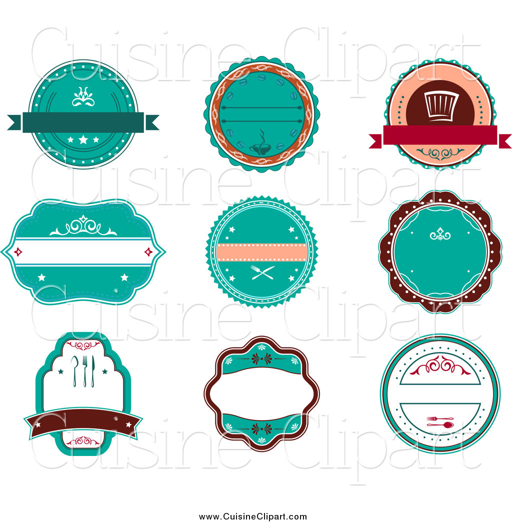 Round retro logo design images - Cuisine retro ...