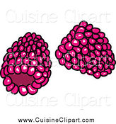 Cuisine Clipart of Raspberries by Prawny