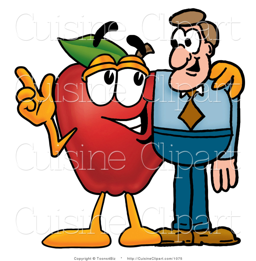 cuisine clipart of a friendly red apple character mascot talking rh cuisineclipart com good nutrition clipart clipart nutrition month